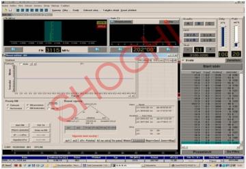 Main Software Application Window