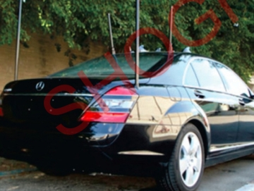 Integration of Jammer in Mercedes