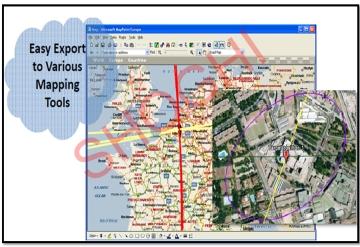 Geo-location of Target VSAT Terminal