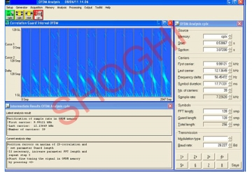Analysis and Decoding of OFDM Signal