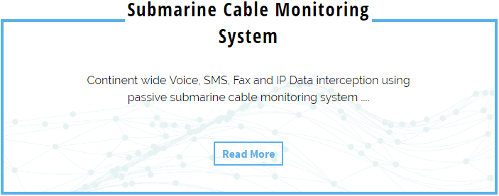 Submarine Cable Monitoring System