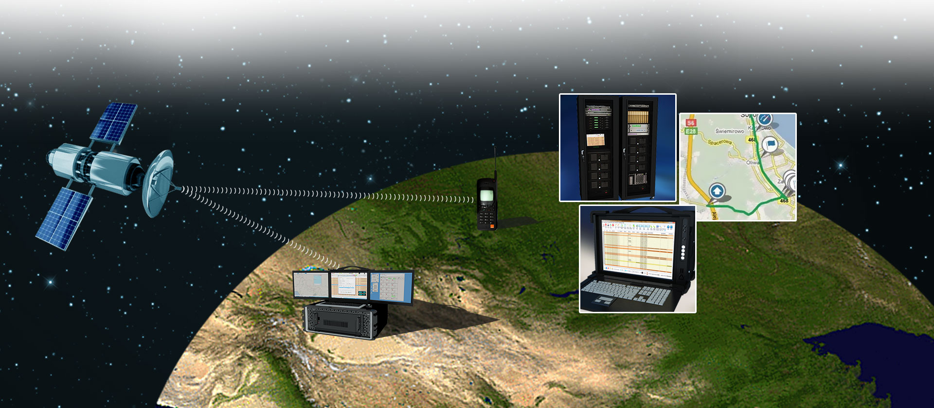 Satellite Phone (GMPCS) Monitoring