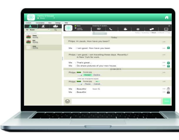 Inbuilt Secure Desktop Application