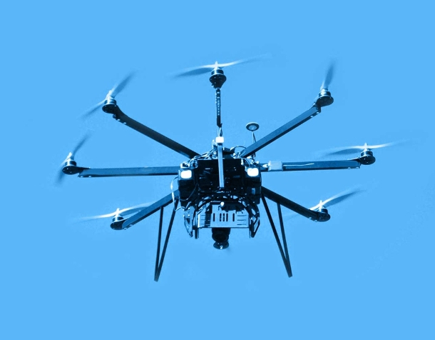 Rotary Wing Uav Unmanned Air Vehicle Tracking Ground Objects