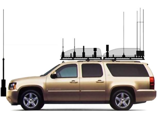 Vehicular Radio Communications Jamming System